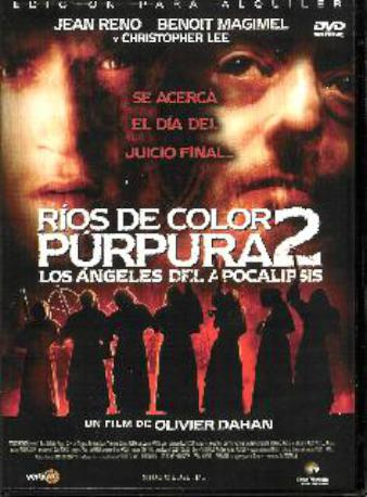 RIOS COLOR PURPURA 2 DVDL