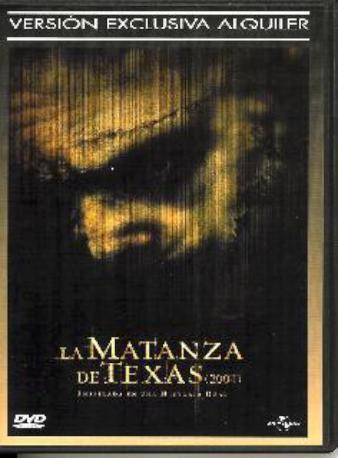 LA MATANZA DE TEXAS DVDL