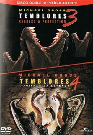 TEMBLORES 3+4 DVD 2MA