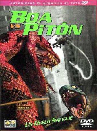 BOA VS PITON DVDL DVD2M