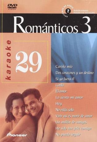 ROMANTICOS 3 VOL 29 DVDK