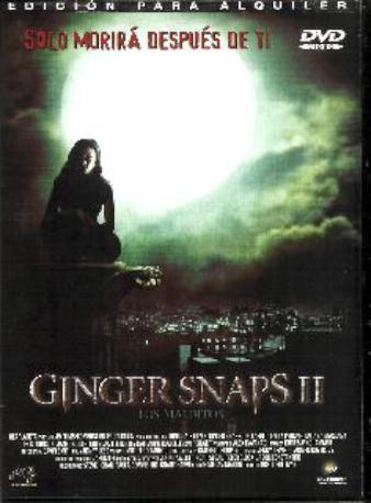GINGER SNAPS II DVDL