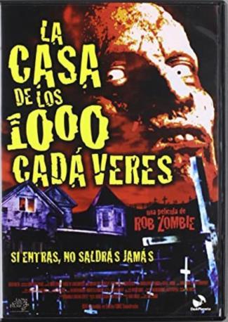 LA CASA DE LOS 1000CA DVD