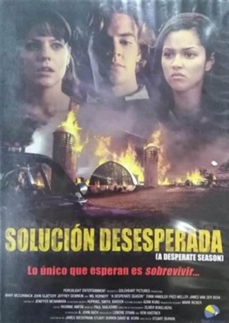SOLUCION DESESPERADA DVD