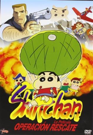 SHINCHAN OPE RESCATE DVD