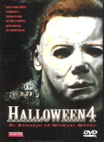 HALLOWEEN 4 DVD