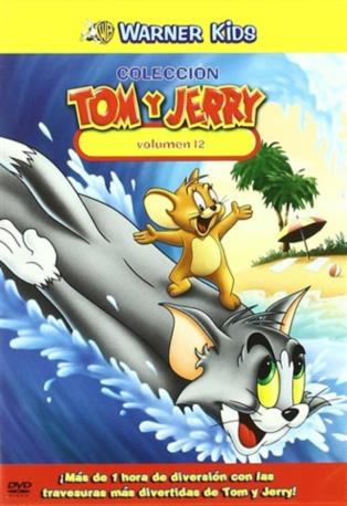 TOM Y JERRY VOL 12 DVD