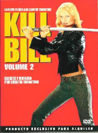 KILL BILL 2 DVDL