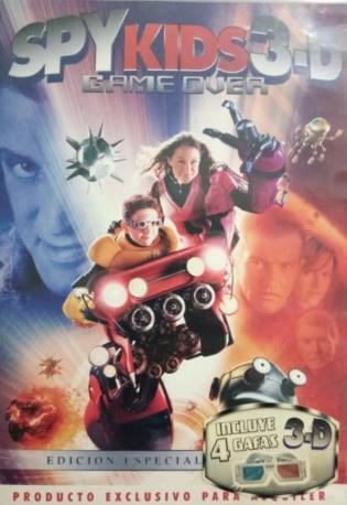 SPYKIDS 3-D DVDL