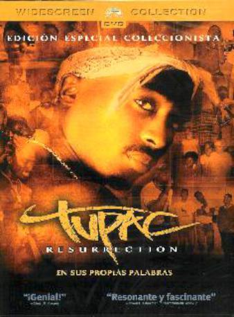 TUPAC RESURRECTION DVD