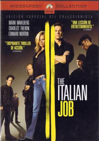 THE ITALIAN JOB DVD 2MA