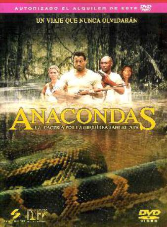 ANACONDAS 2 LA CACERDVDL