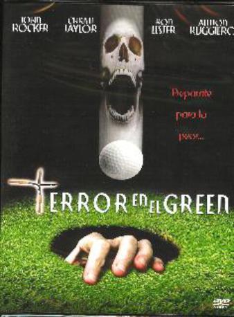 TERROR EN EL GREEN DVD