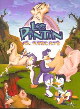 LOS PINTIN AL RESCATE DVD