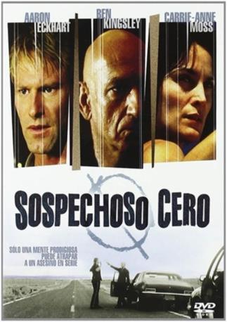 SOSPECHOSO ZERO DVDL 2MA