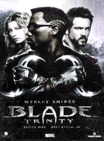 BLADE TRINITY DVDL