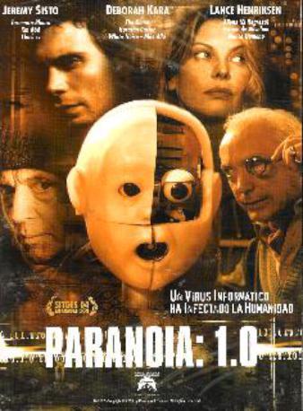PARANOIA 1,O DVD