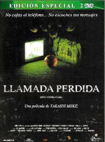 LLAMADA PERDIDA DVD 2MA