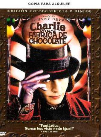 CHARLIE Y LA FABRICA DVD