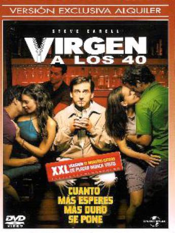 VIRGEN A LOS 40 DVDL