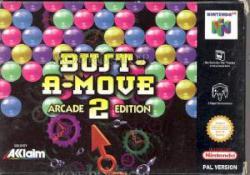 BUST A MOVE 2 N64 2MA