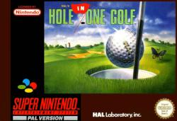 HOLE IN ONE GOLF SNES 2MA