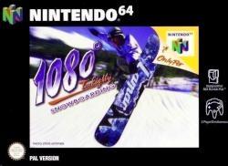 1080 SNOWBOARDING N64 2MA