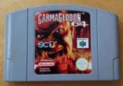 CARMAGEDON-64 CARTUTXO