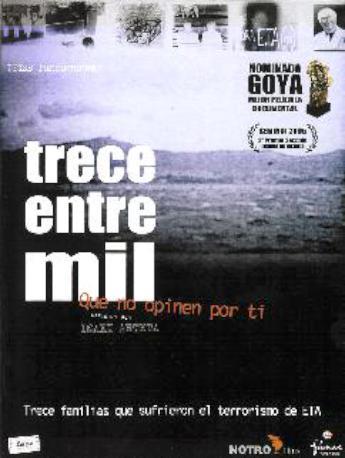 TRECE ENTRE MIL DVD