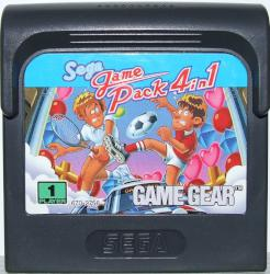 SEGA PACK 4 IN 1 GAME GEAR CAR