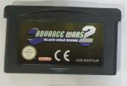 ADVANCE WARS 2 GBA CARTUTXO