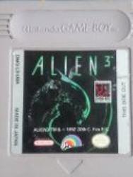 ALIEN 3 GB CARTUTXO