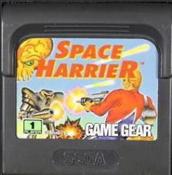 SPACE HARRIER GG CARTUTXO