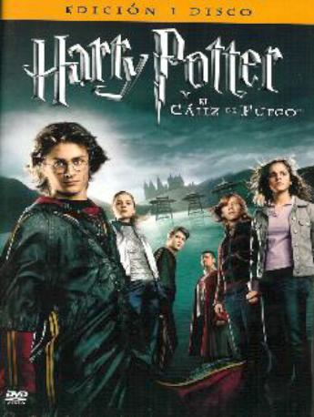 HARRY POTTER EL CALIZ ESP