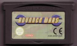 ADVANCE WARS GBA CARTUTXO