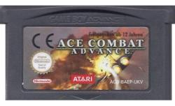 ACE COMBAT ADVANCE GBA CARTUTO