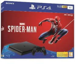 CONSOLA PS4 1TB + SPIDERMAN