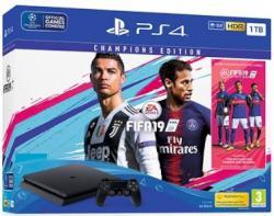CONSOLA PS4 1TB + FIFA 19 CHAM