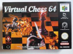 VIRTUAL CHESS 64 N64