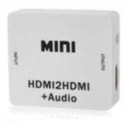 ADAPTADOR HDMI IN HDMI OUT+AUD