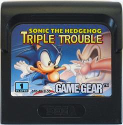 SONIC THE HEDGEHOG TRIPLE TGGC