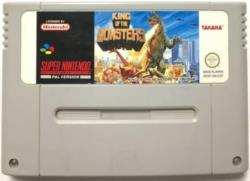 KING OF THE MONSTERS SNES CART