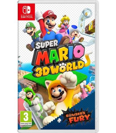SUPER MARIO 3D WORLD + BOWS SW