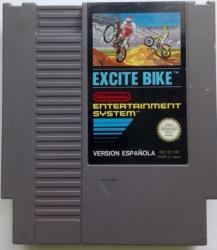 EXCITE BIKE NES CART