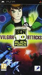 BEN 10 VILGAX ATTACKS PSP 2MA