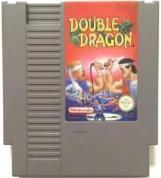 DOUBLE DRAGON NES CART