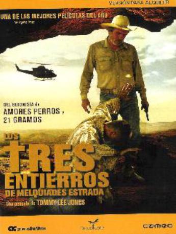 LOS TRES ENTIERROS DVDL