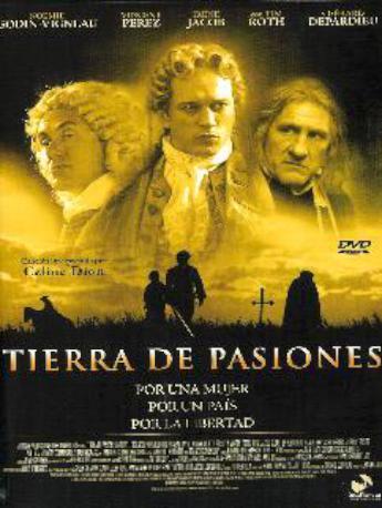 TIERRA DE PASIONES DVD