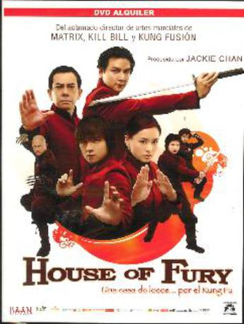 HOUSE OF FURY DVDL