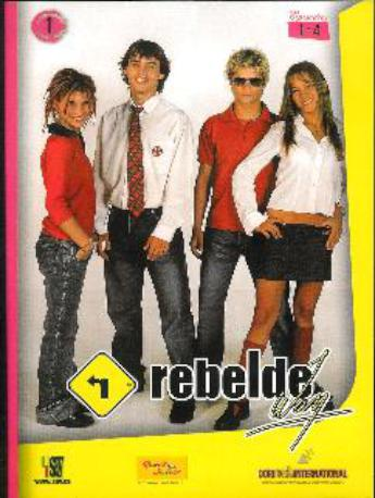REBELDE WAY DVD EP 1 AL 4